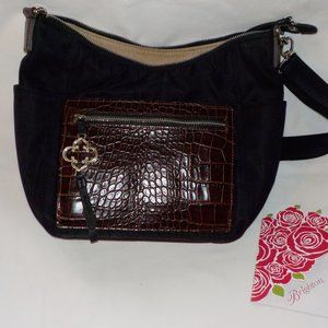 Brighton purse NWOT black brown tags included
